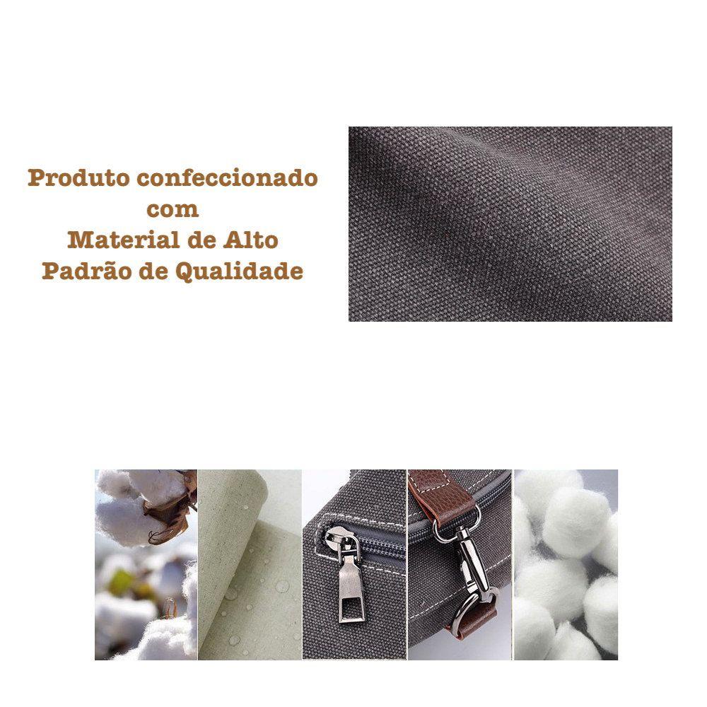 Bolsa Mochila Feminina Com Alça de Alumínio Resistente