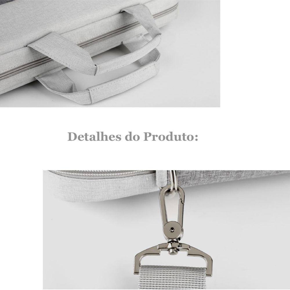 Bolsa Notebook Unissex