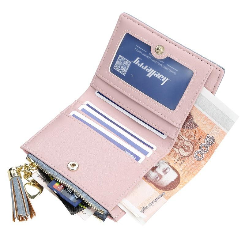 Carteira Feminina Pequena Baellerry Para Cartões e Cédulas