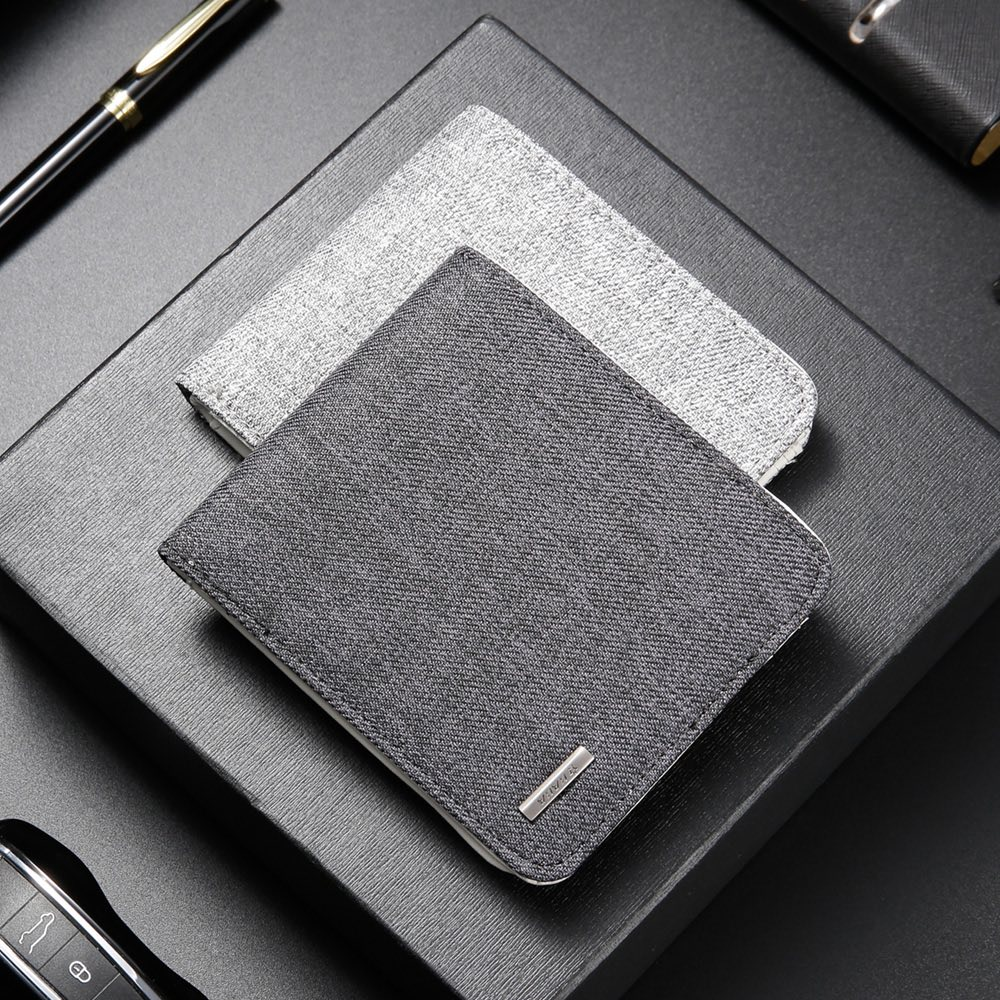 Carteira Masculina de Bolso com Ótima Qualidade Premium 11cm