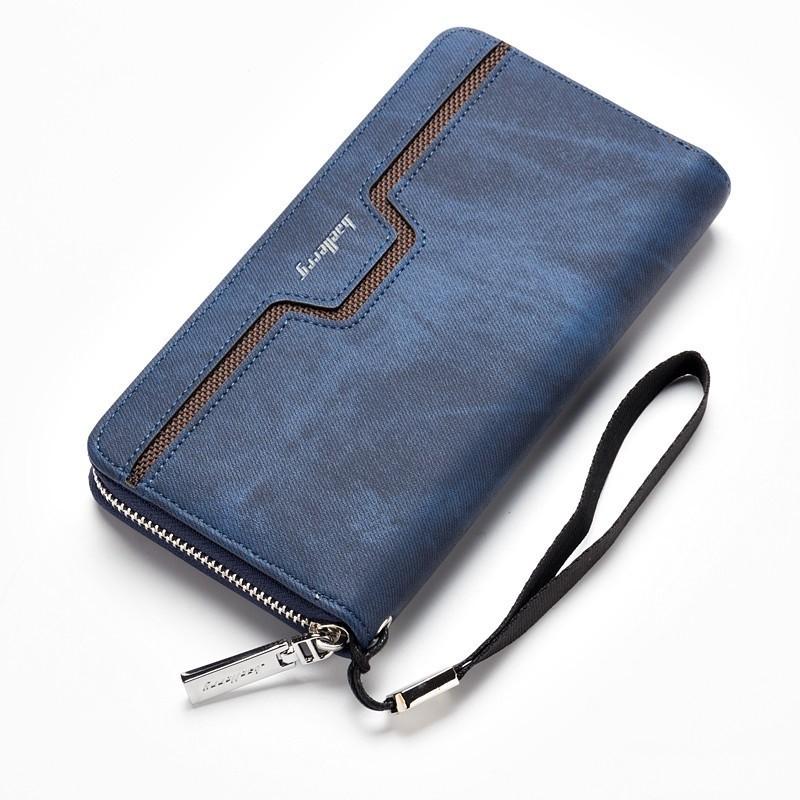 carteira masculina com ziper