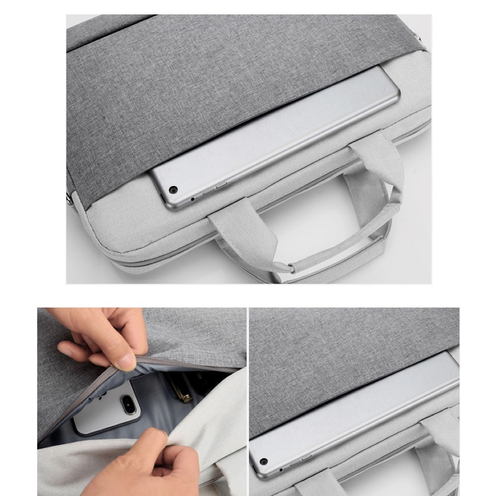 Case Para Notebook de até 15.6 Transversal Com alça de mão