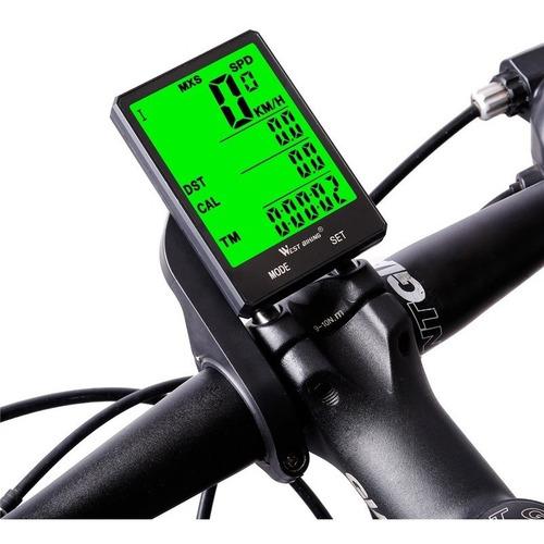 Ciclocomputador Velocimetro para Bike Sem fio