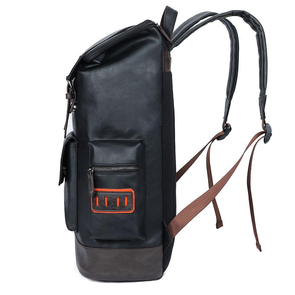 mochila de couro