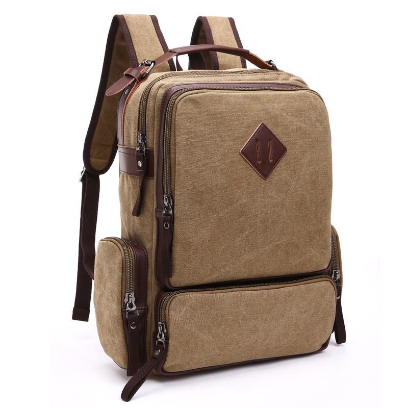 mochila masculina de lona
