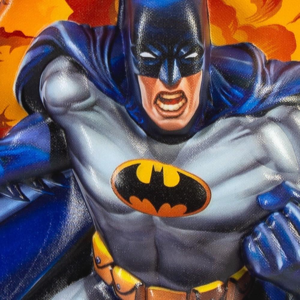 Mochila Escolar Para Meninos do Batman com Lancheira 3D