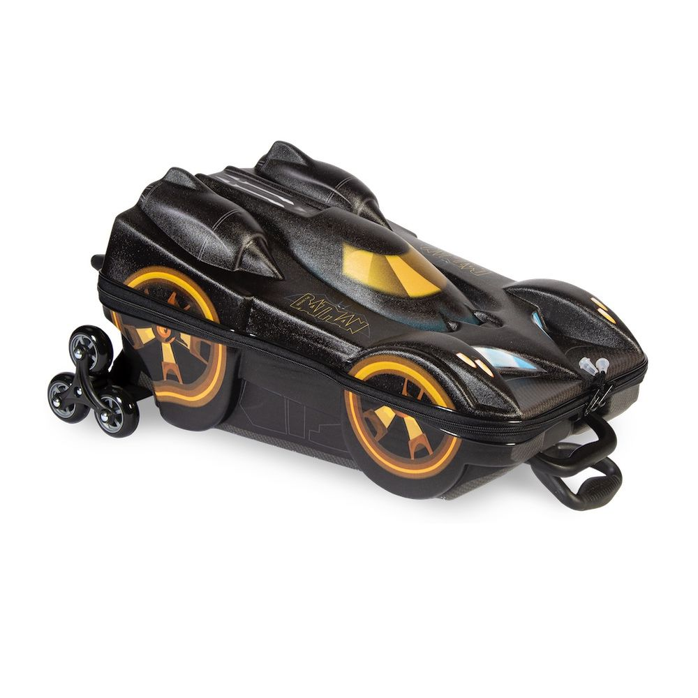 Mochila Escolar Para Meninos do Batmóvel 3D + Lancheira 3D