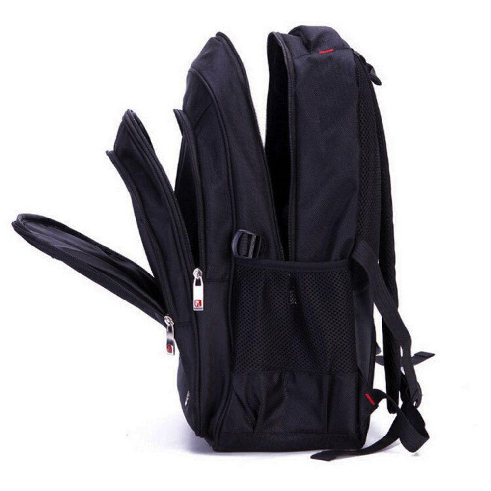 mochila estilo casual preta