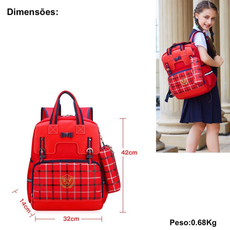 mochilas escolares femininas