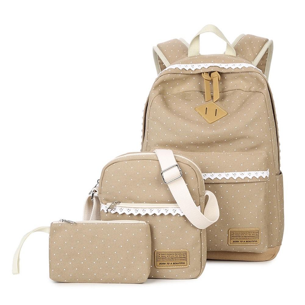 mochila feminina kit