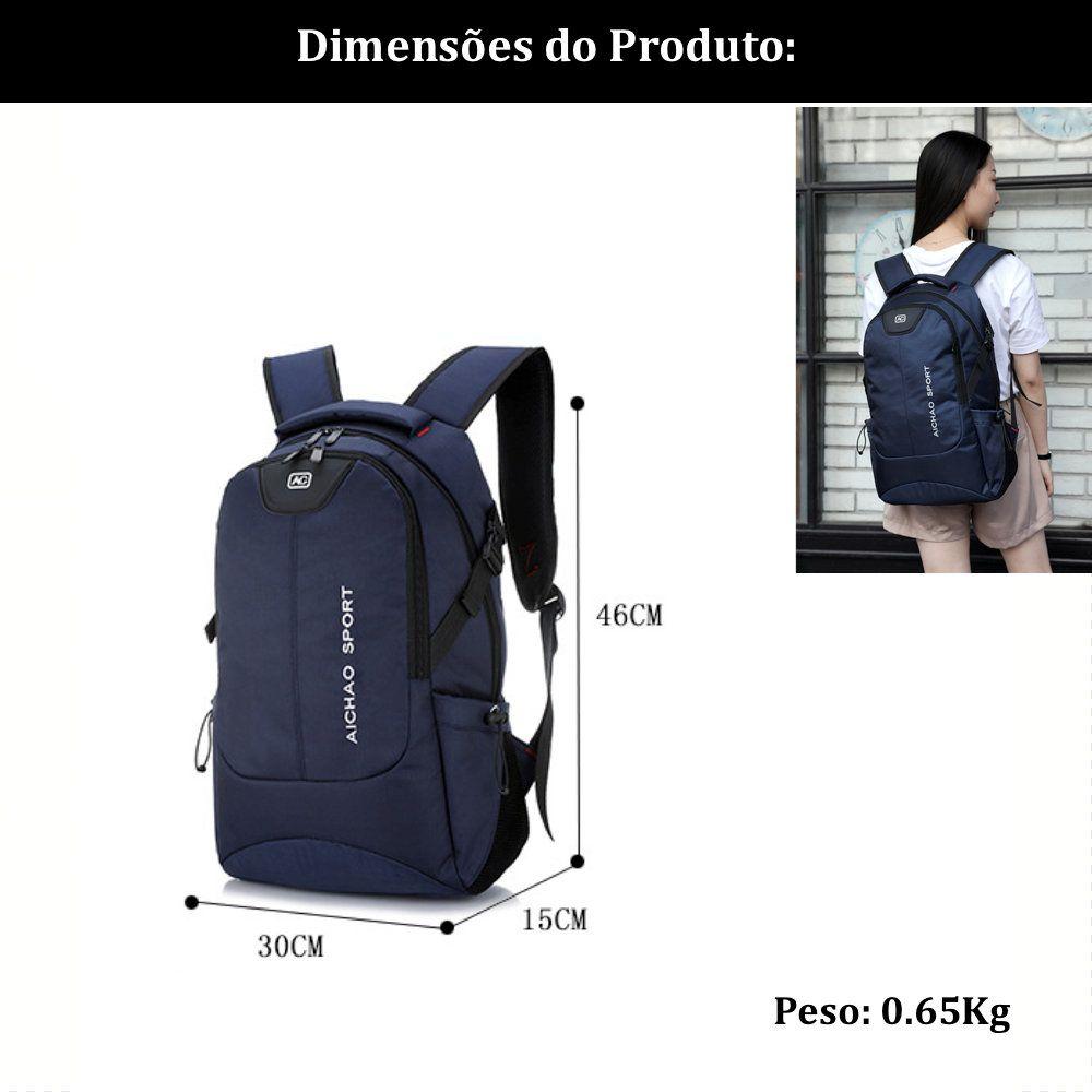 mochila grande para notebook