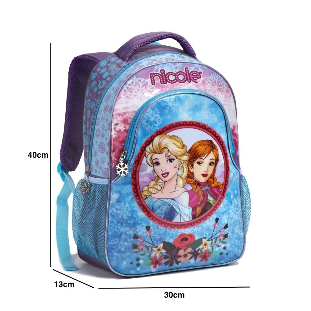 Mochila Infantil Escolar Feminina Bonita Meninas Frozen Top