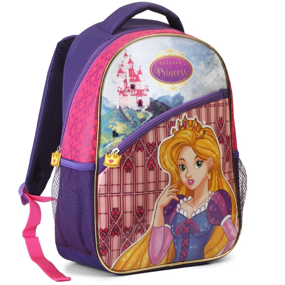 Mochila Infantil Escolar Feminina Bonita Princesas Top