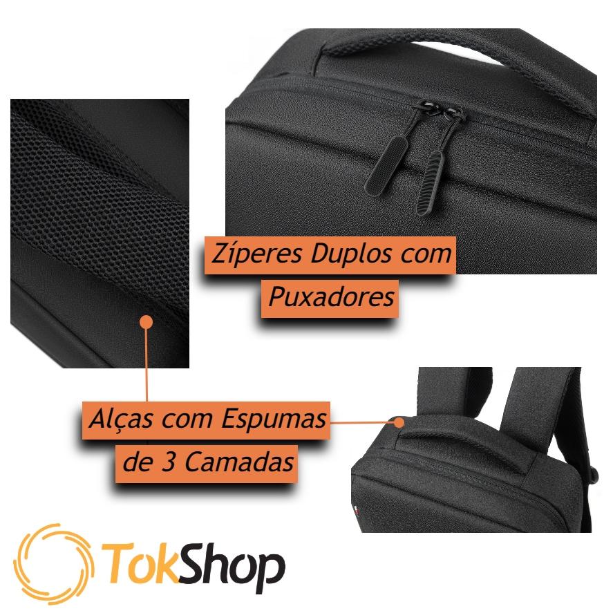 Mochila Masculina Executiva Premium Impermeável Tokshop