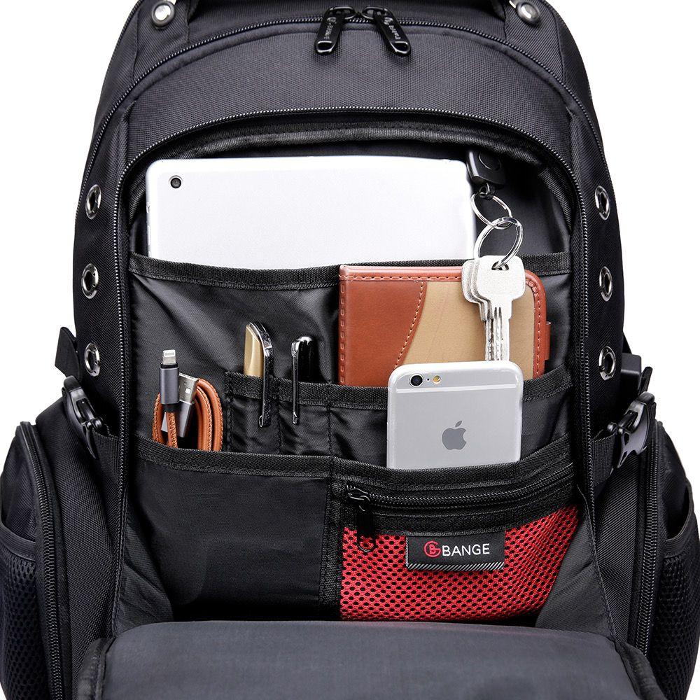 Mochila Masculina Notebook Bange Capacidade 40L