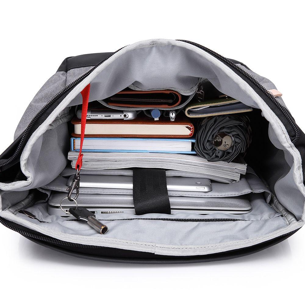 Mochila Para Notebook Impermeável Unissex Com Acabamento Premium