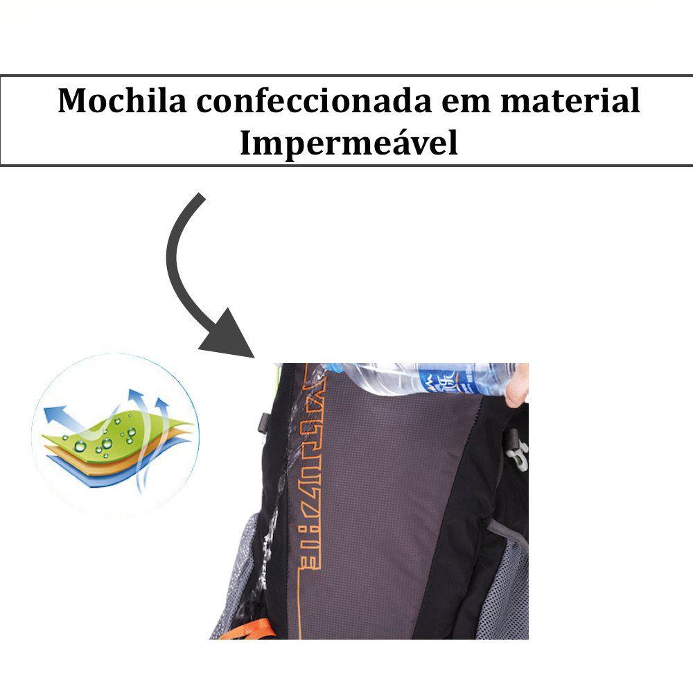 Mochila para Trilha Impermeável com Capacidade de 35L