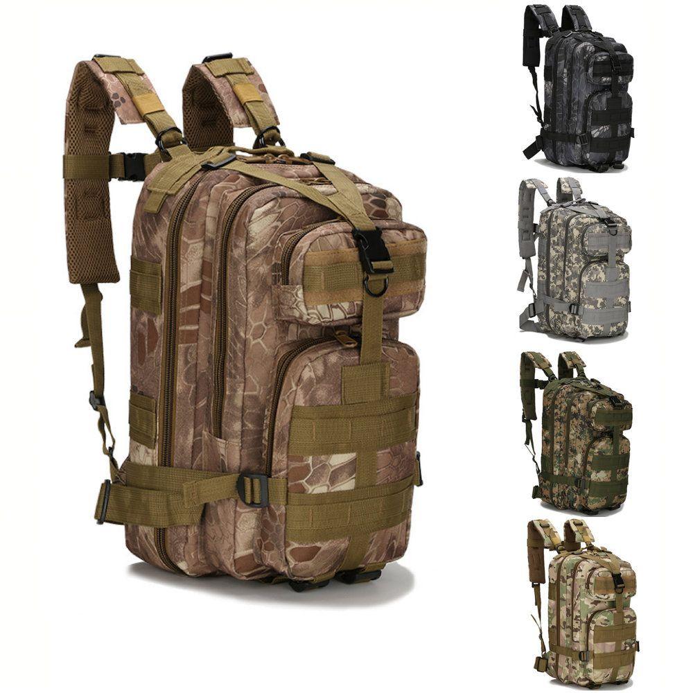 mochila tatica militar camuflada 30L
