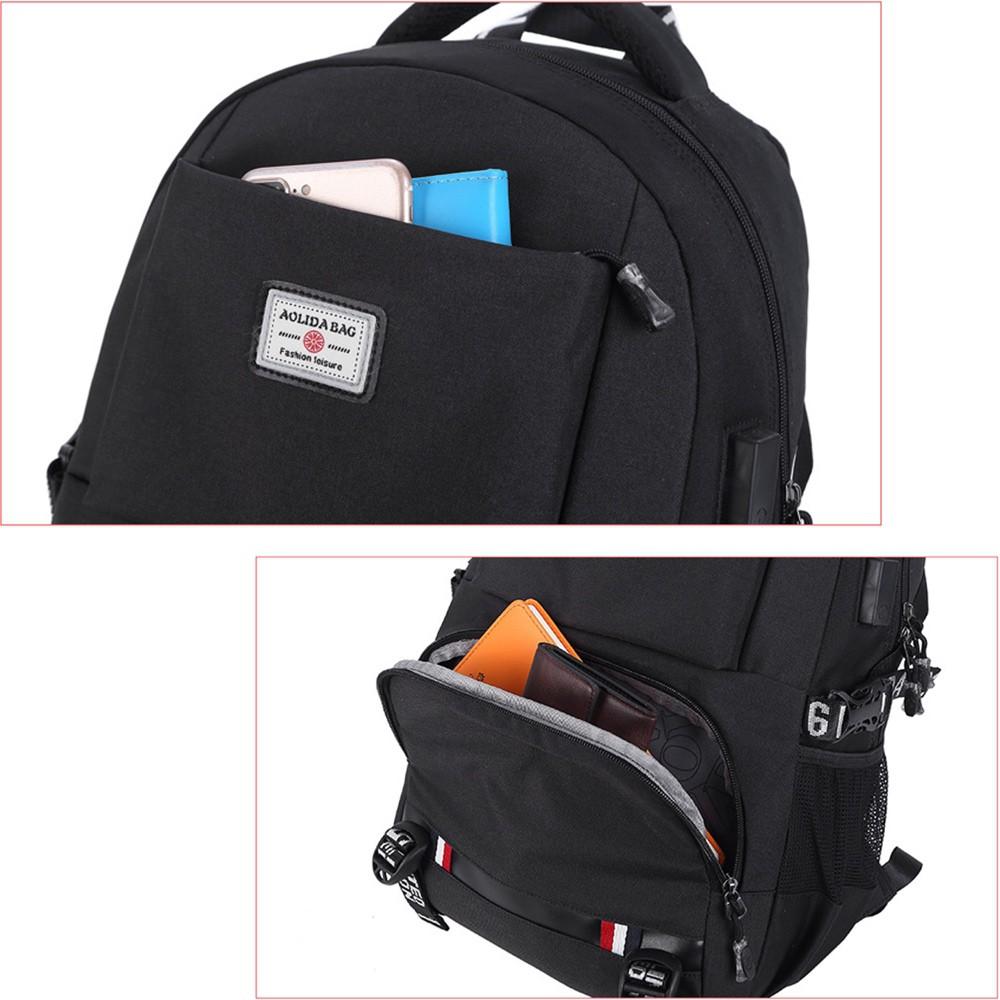 Mochila Unissex Premium Para Notebook de até 15,6 Polegadas