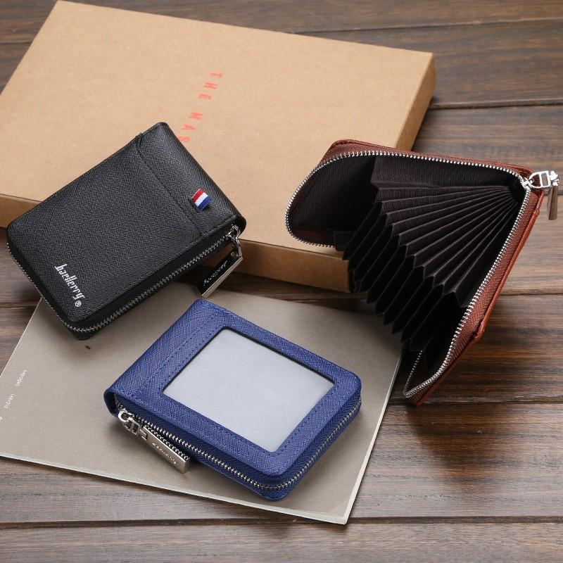 Porta Cartões CNH Cédulas Baellerry Com Zíper