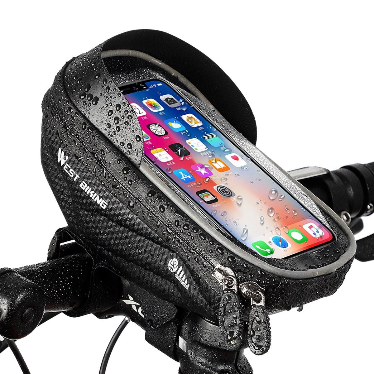 Porta Celular Smartphones Impermeável para Bicicletas