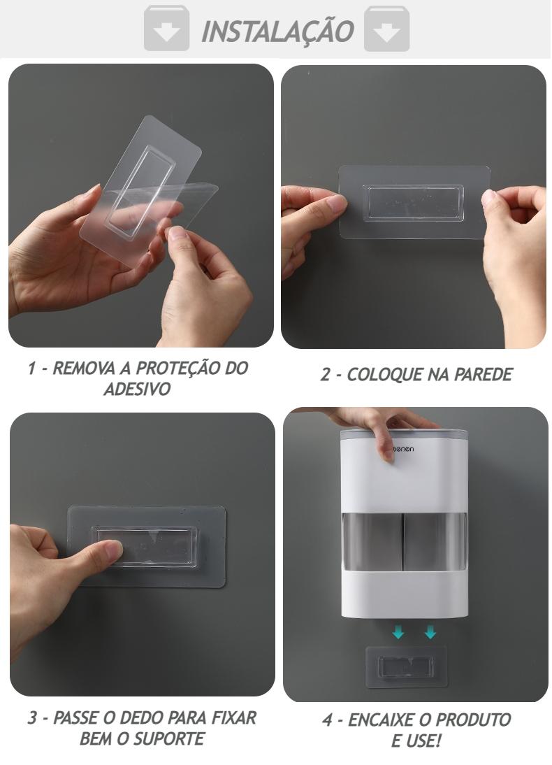 Porta Copos Descartáveis Dispenser Fechado Moderno de Luxo
