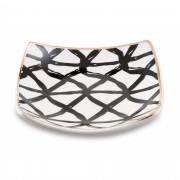 Pratinho Jóia do Dia Traços em cerâmica