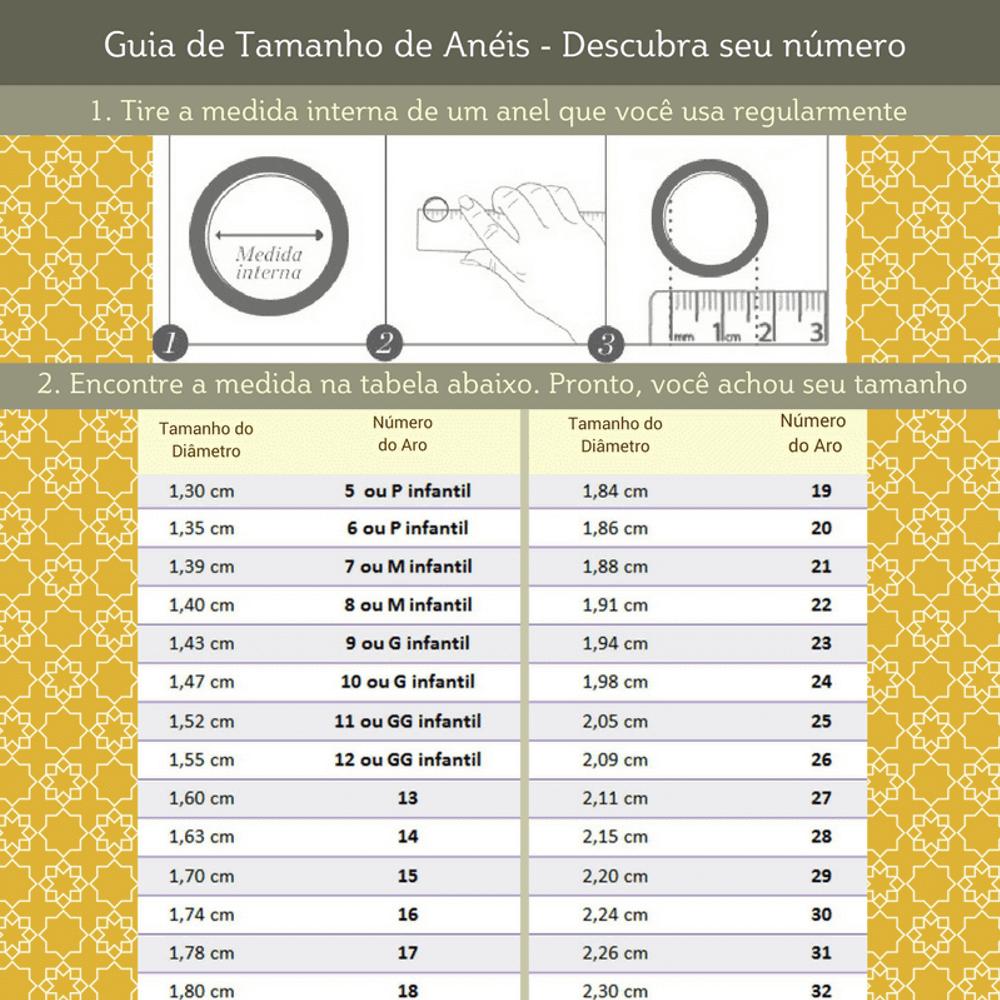 Anel Triplo Luxo Com Zirconias Bárbara - 4 em 1!