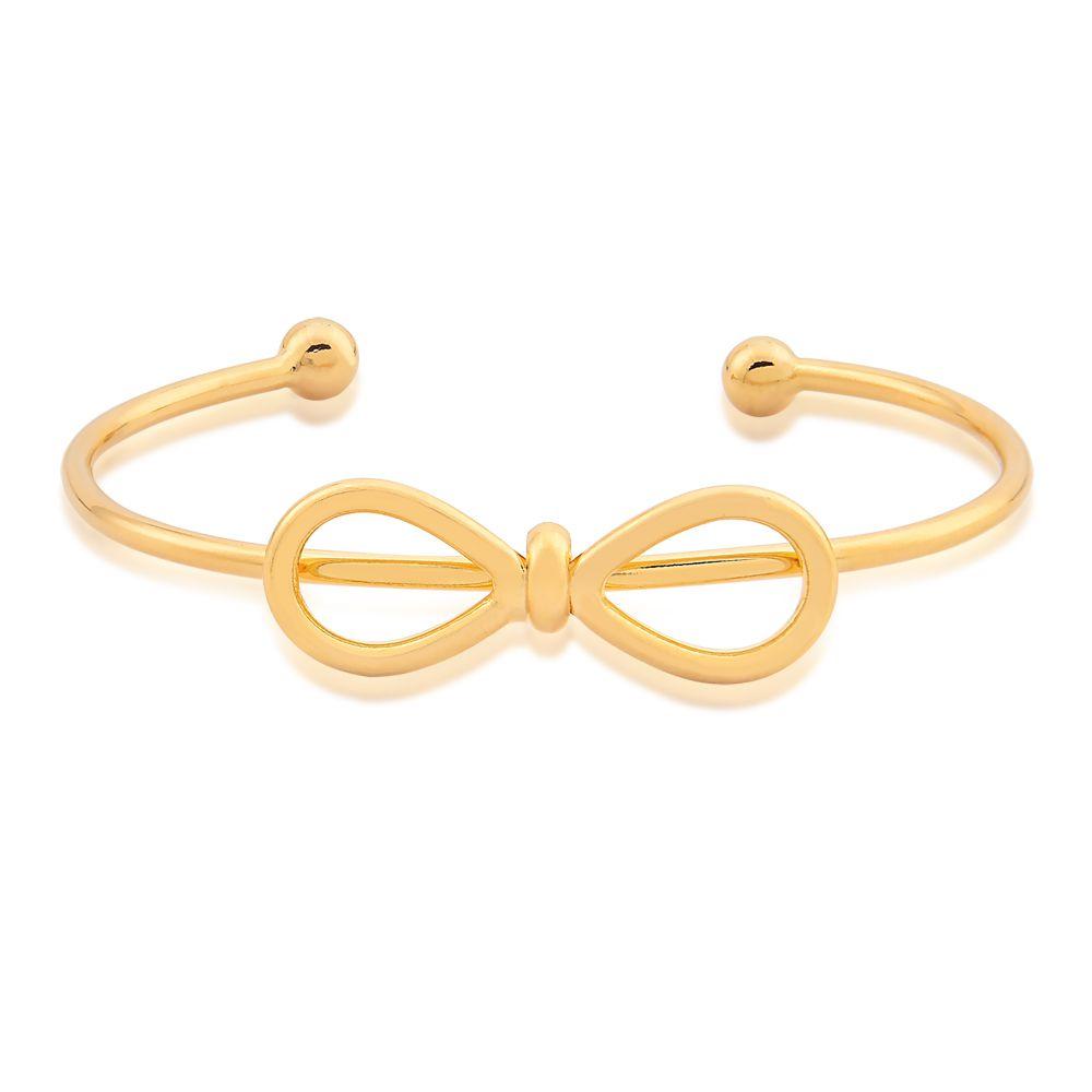Bracelete de Laço banhado em Ouro 18k  Alice