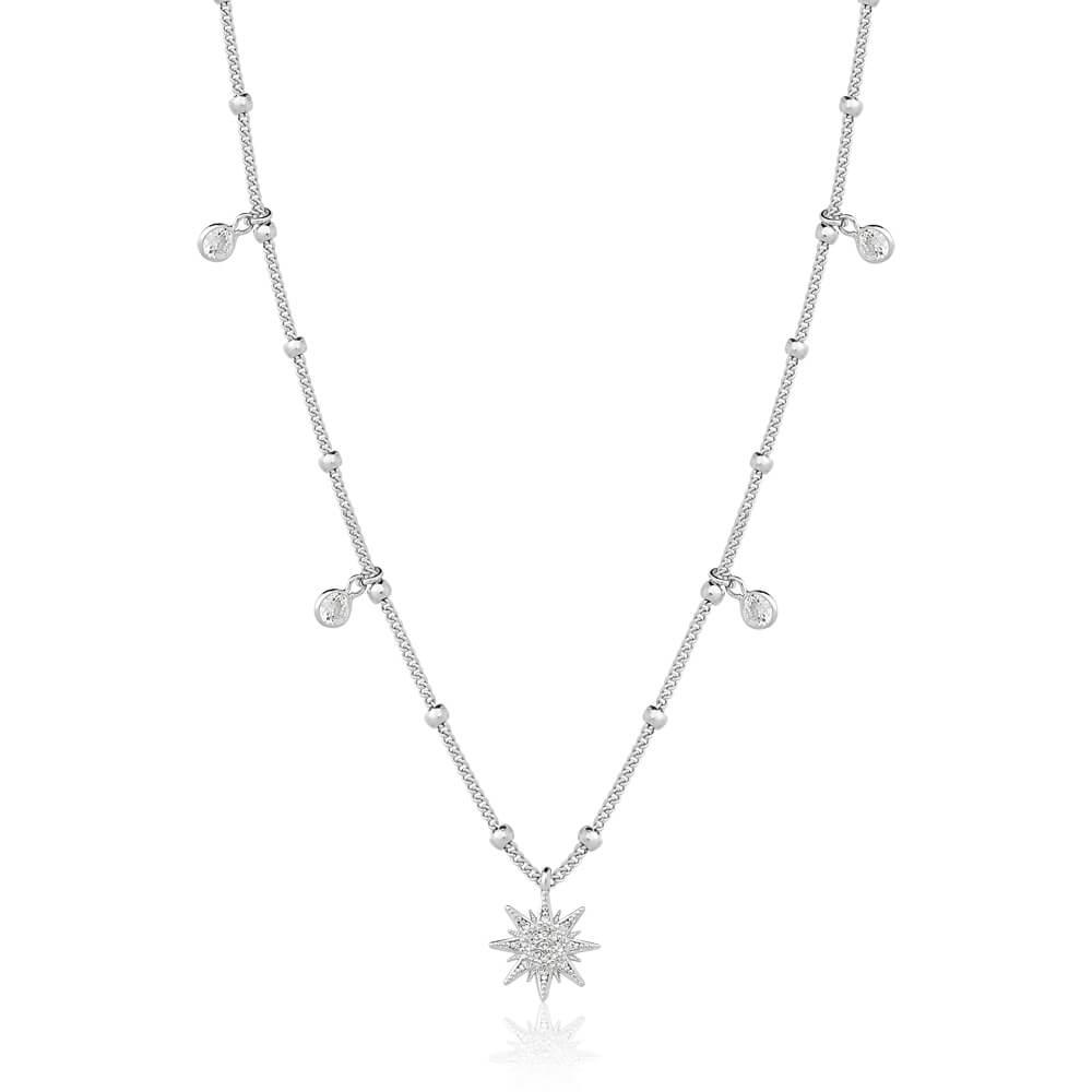 Colar Com Estrela E Zirconias Micaela