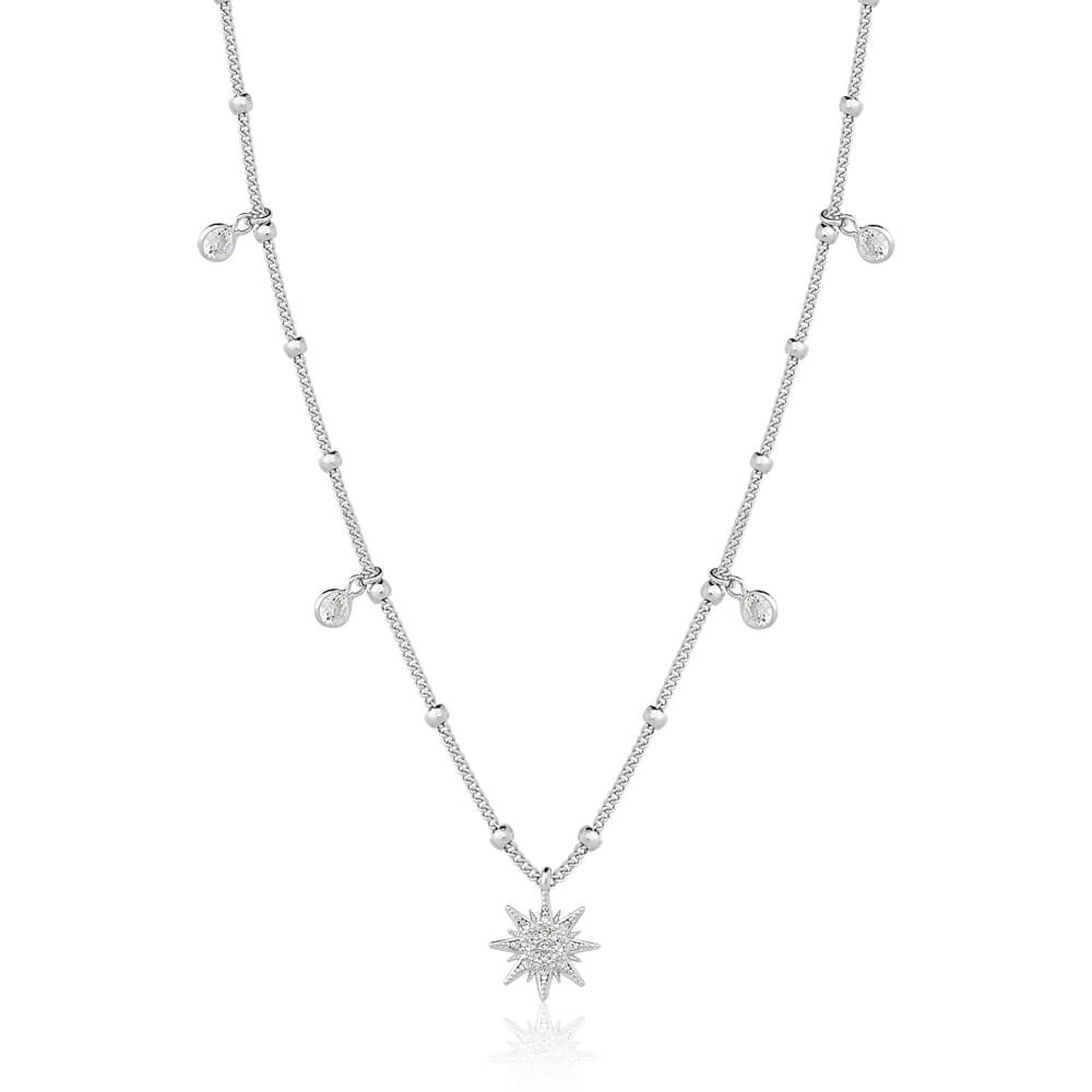 Colar feminino de estrela E Zirconias Micaela