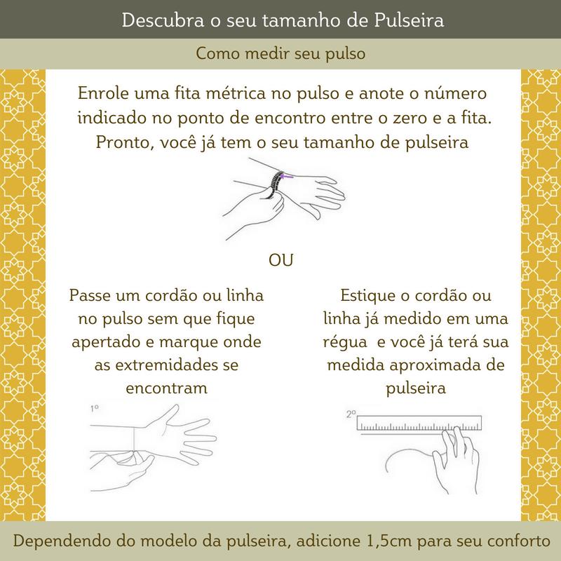 Pulseira Feminina Gaby com Zirconias