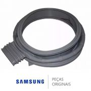 Guarnição Borracha Porta Lava e Seca Samsung DC64-01827A