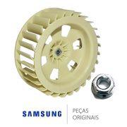 Kit Hélice Lava E Seca Samsung Dc67-00440a + Porca Do Motor