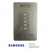 PAINEL FRONTAL DISPLAY REFRIGERADOR SAMSUNG RT46H DA64-04377K