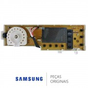 Placa Display Interface Lavadora Samsung Wf106u4sawq