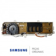 PLACA DISPLAY LAVADORA SAMSUNG WW11K DC92-01850B