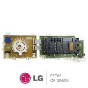 PLACA PAINEL DISPLAY LAVA E SECA LG WD11 WD1412 EBR78770650