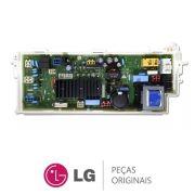 PLACA PRINCIPAL LAVA E SECA LG 220V  WD412 EBR74947078