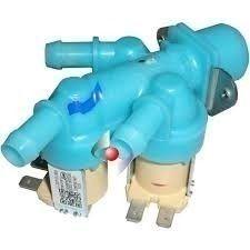 Válvula Entrada De Água Tripla 110v~127v Lava E Seca Samsung