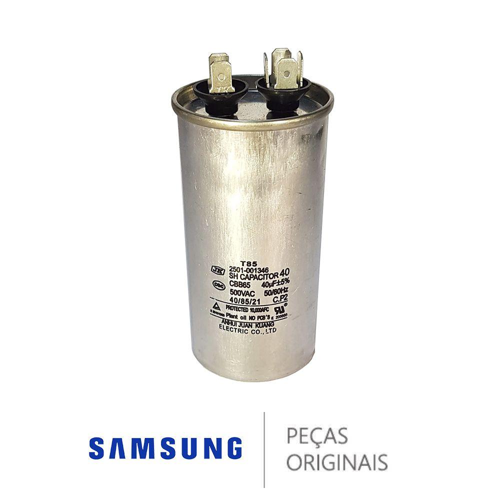 CAPACITOR PARA AR CONDICIONADO SAMSUNG 40UF - 2501-001346