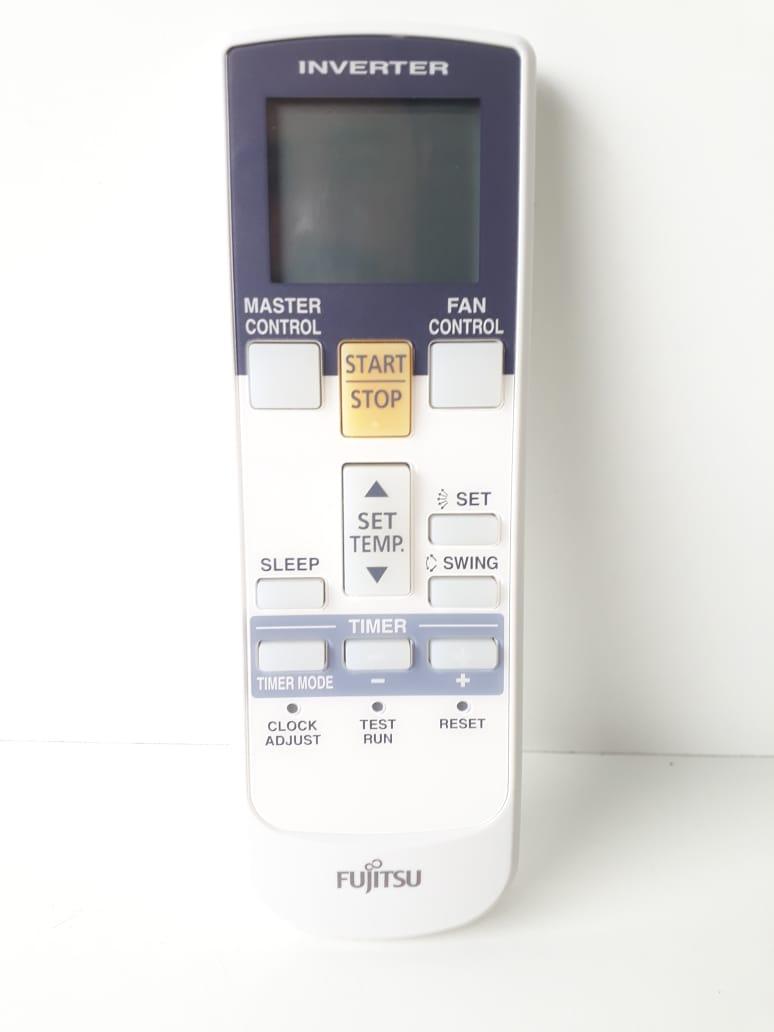 Controle Remoto ar condicionado Fujitsu ASBA09JGC ASBA12JGC