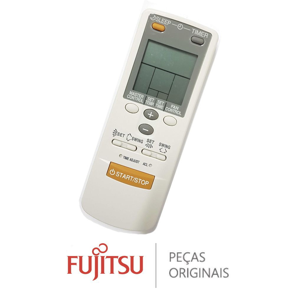 CONTROLE REMOTO AR-JW1 ASB18/24/30 R1 FUJITSU 9374322015