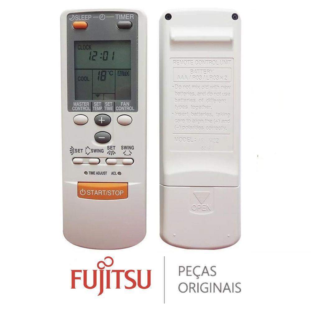 CONTROLE REMOTO AR-JW22 FUJITSU 9374322220