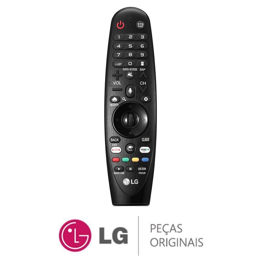 CONTROLE REMOTO MAGIC TV LG UJ6565 UJ6585 AN-MR650A AKB75075307 2017