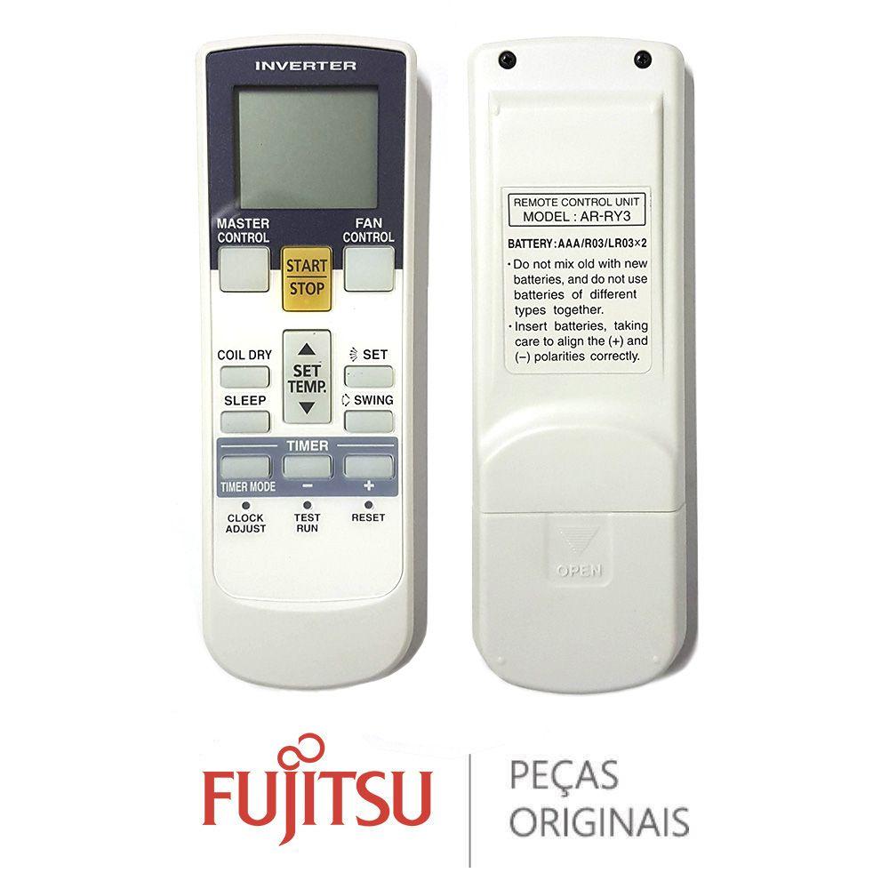 CONTROLE REMOTO RC AS AR-RY3 FUJITSU 9315027030