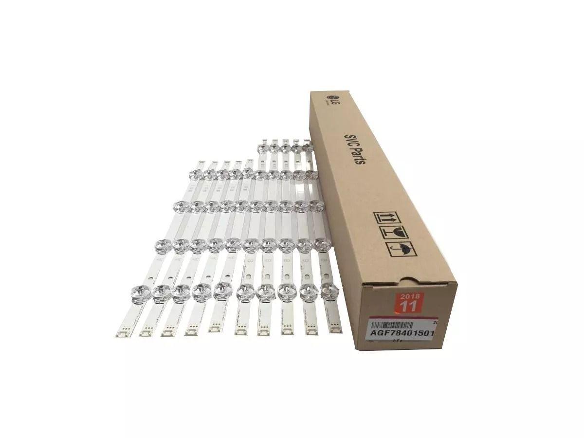 Kit Barras De Led Tv Lg 50lb5600 50lb6500 50lb5800