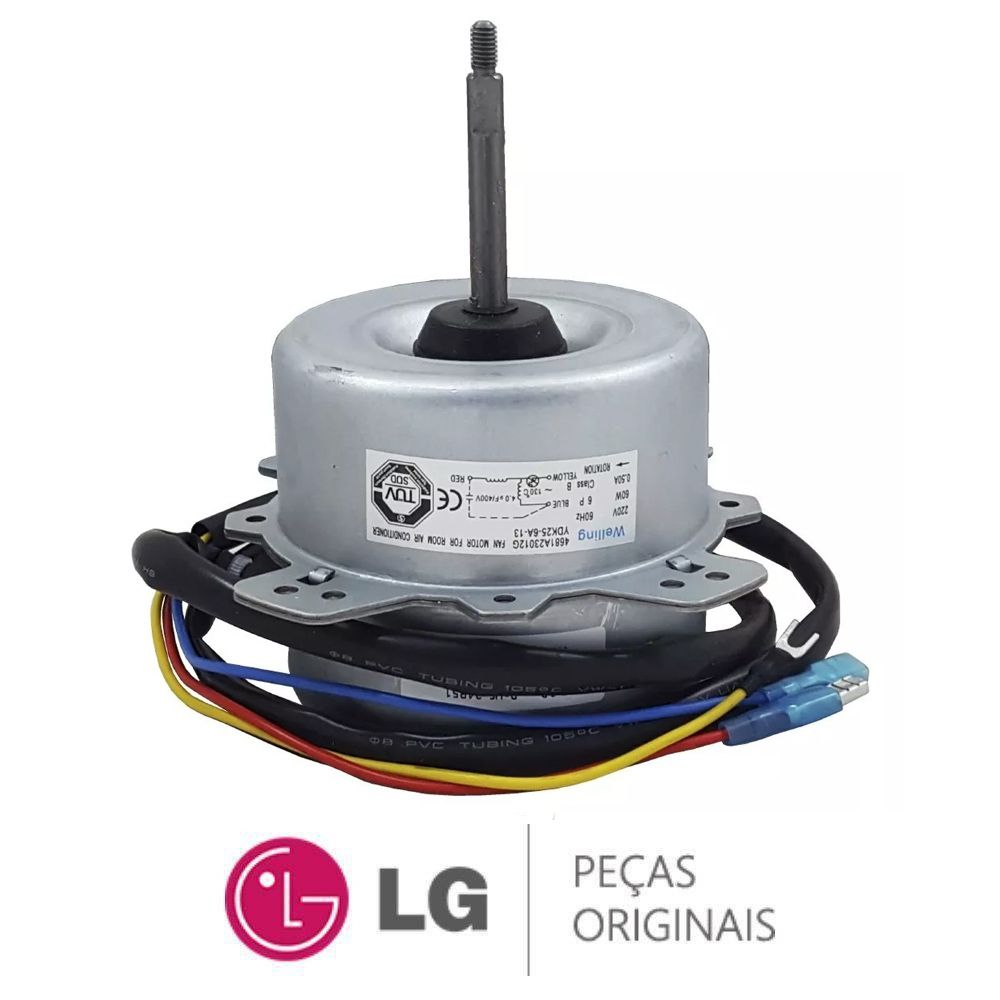 Motor Ventilador 4681a23012g Ar Condicionado Lg Tsuh122h4w0