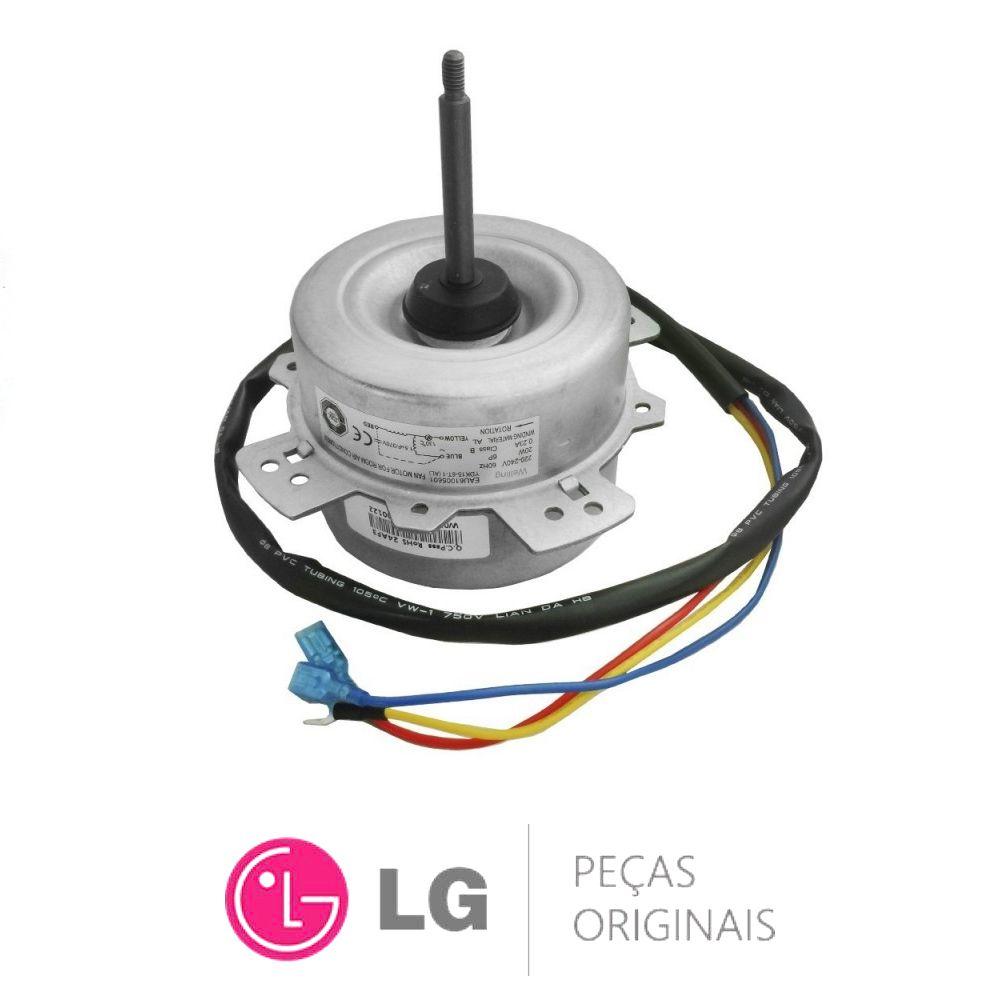 Motor Ventilador Condensadora Lg 9000 Btus - 4681a20004y