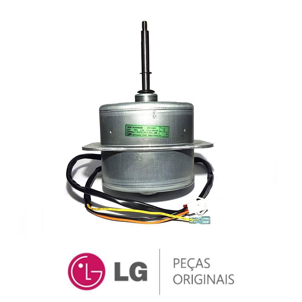 Motor Ventilador Condensadora Lg Piso Teto - 4681A20060B